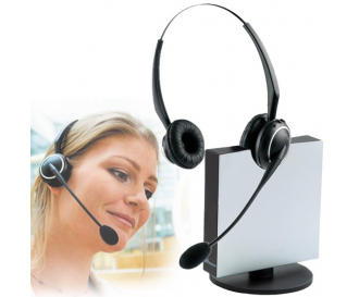 Casca wireless Jabra 9120 Duo FlexBoom NC EHS