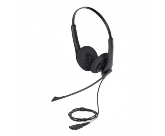 Casca Call Center Jabra Biz 1500 Duo QD, Microfon Noise-Cancelling (1519-0154)