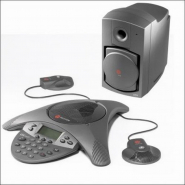 Sistem conferinta POLYCOM SoundStation VTX 1000 with Mics and Subwoofer